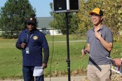 Walt Crump (SEM/PCA Vice-President) & Lucas Phan (SEM/PCA Board Member)