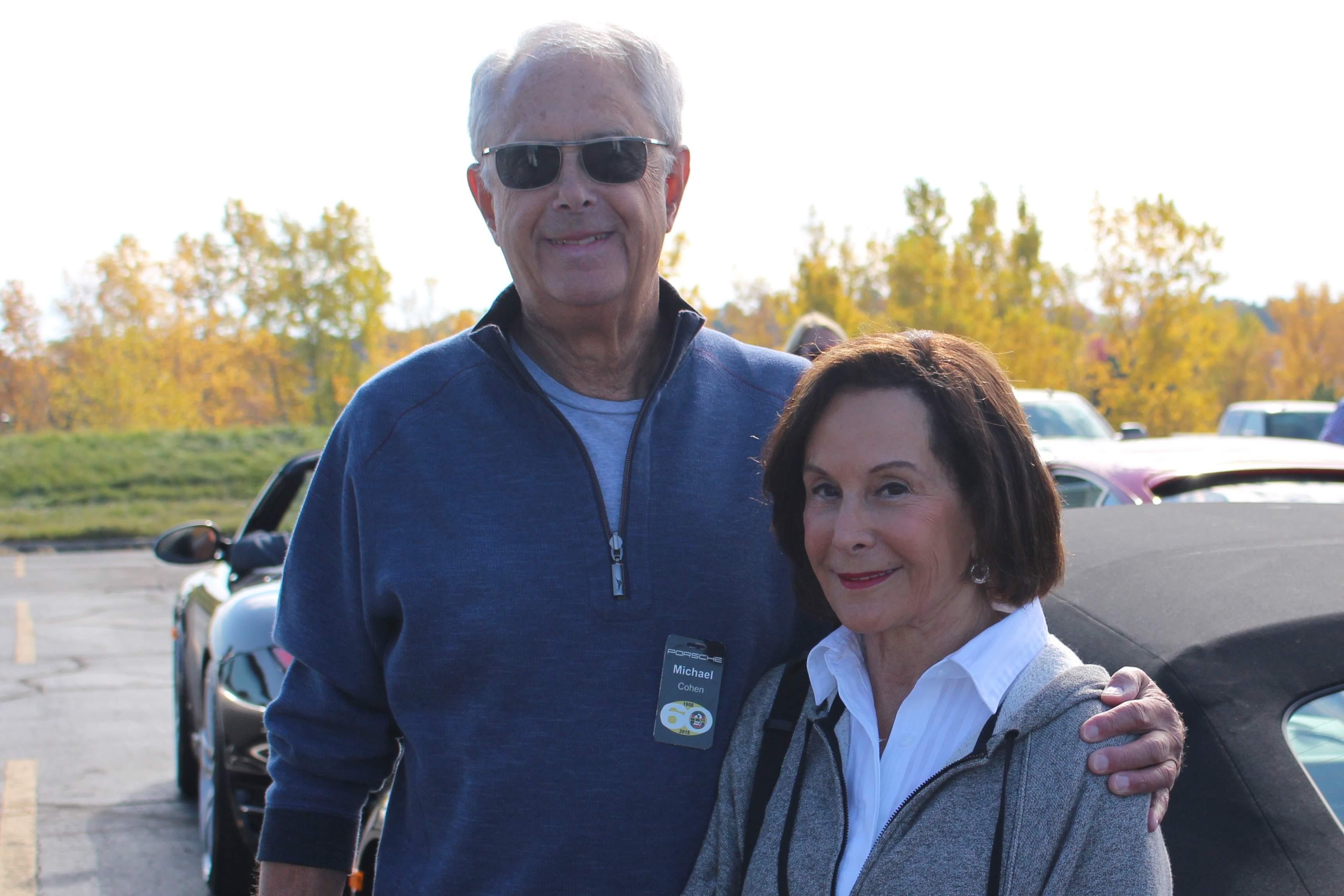 Michael Cohen (SEM/PCA Board Member) and Marlene Thav
